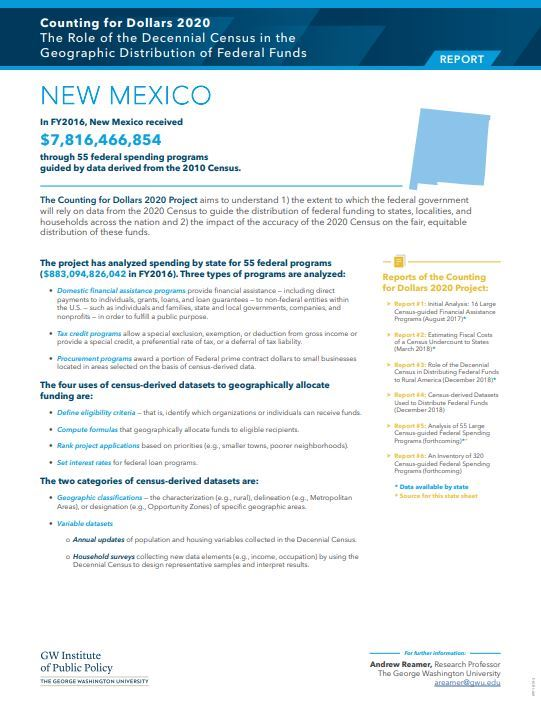 NM Census info