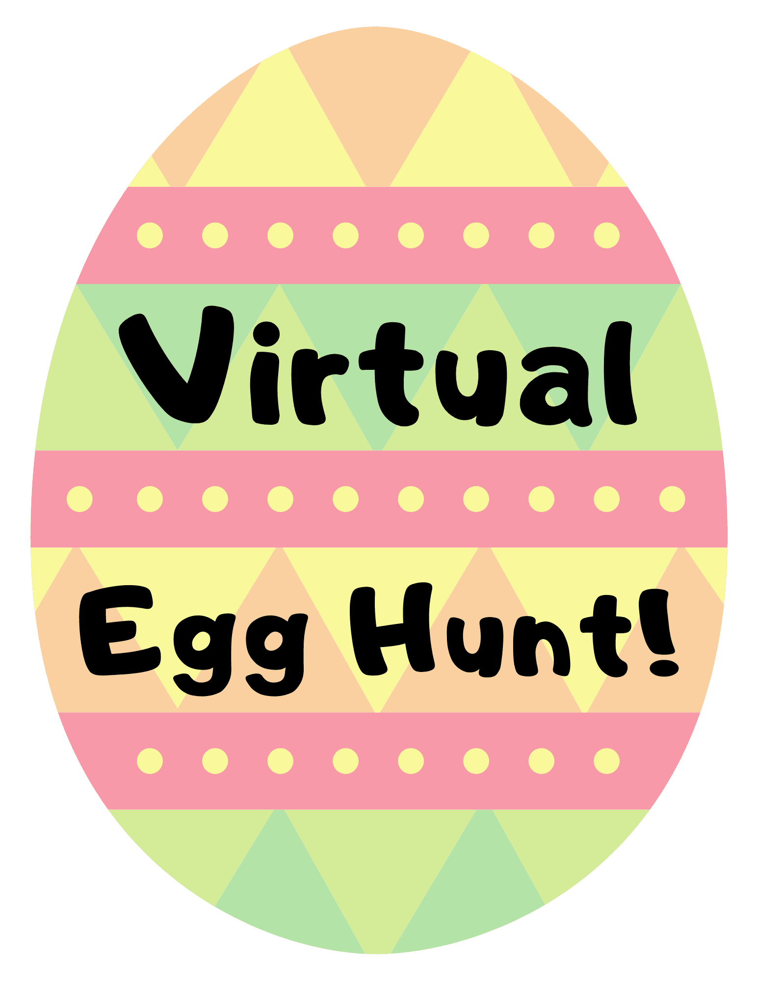 Virtual Egg Hunt Graphic