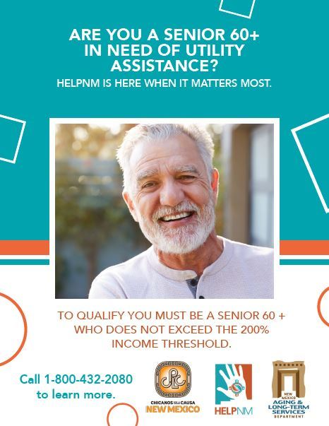 Senior utility Assistance HELPNM