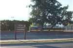 Tennis Courts Sign